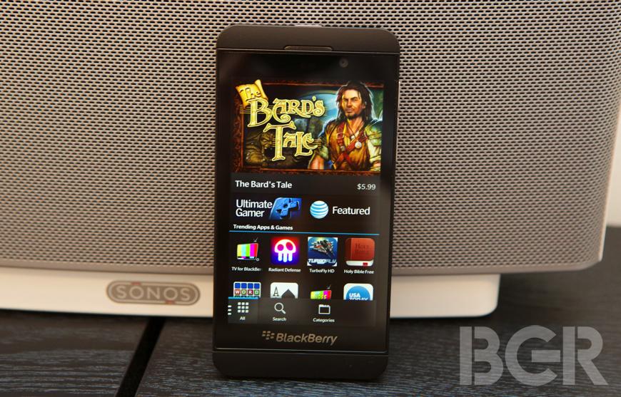 BlackBerry World app count