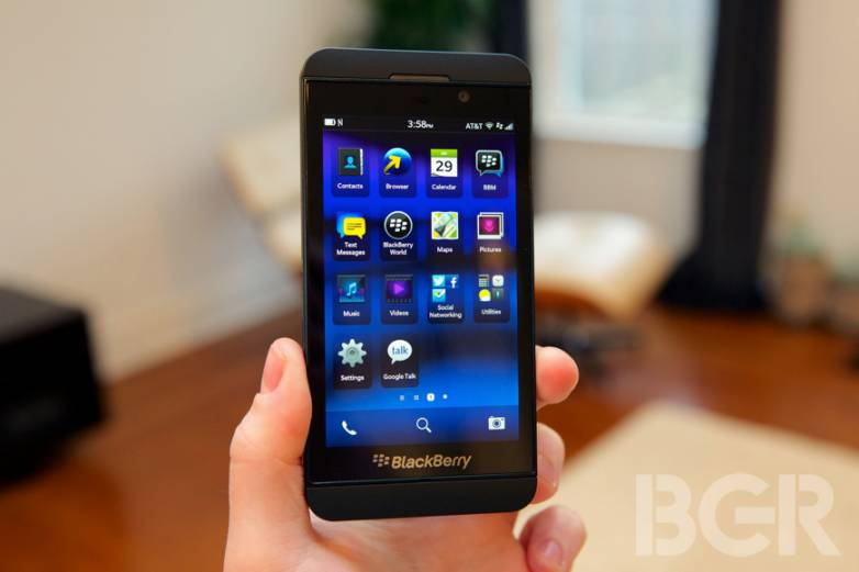 BlackBerry Z10 U.S. Sales