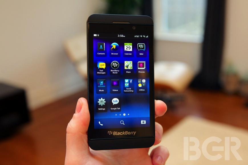 BlackBerry Z10 U.S. Sales