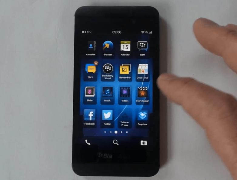 BlackBerry Z10 Video