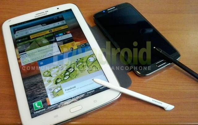Galaxy Note 8.0 Images Leaked