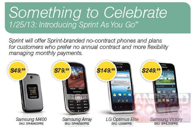 Sprint Prepaid Serivce