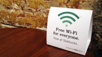 Starbucks Free Wifi Security Concerns