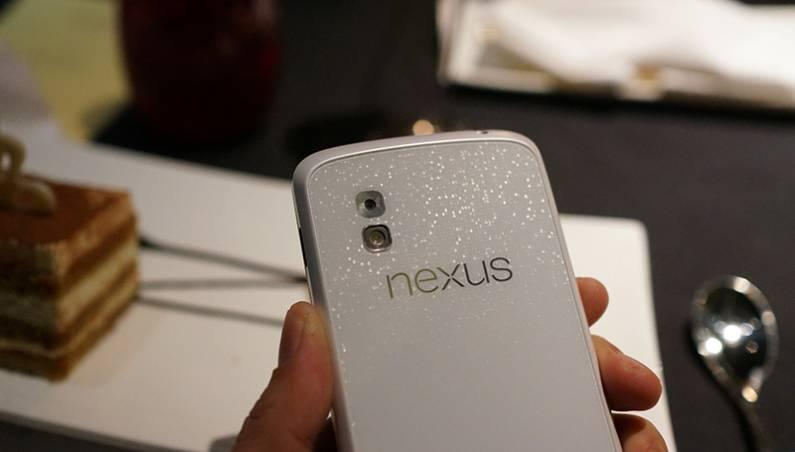 White Nexus 4 Smartphone