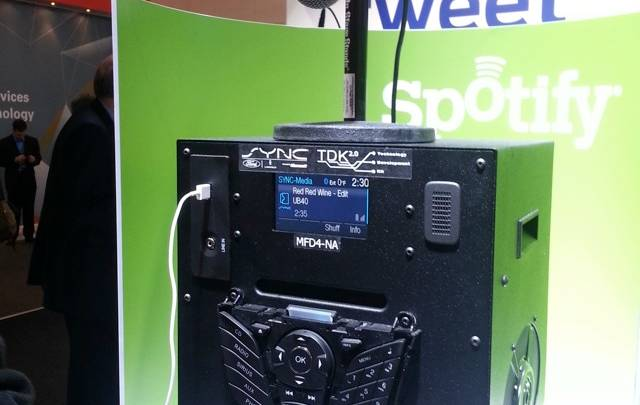 Ford Sync Spotify Integration