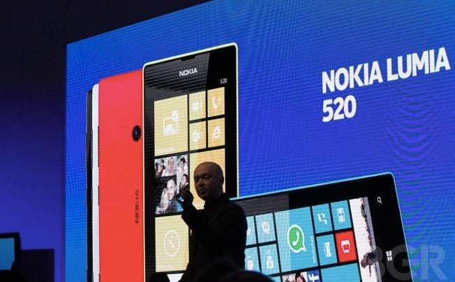 Windows Phone European Market Share