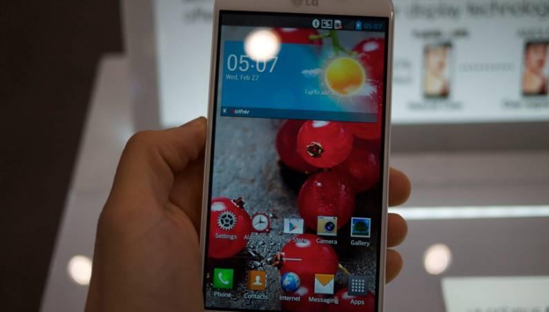 LG Optimus G Pro Sales