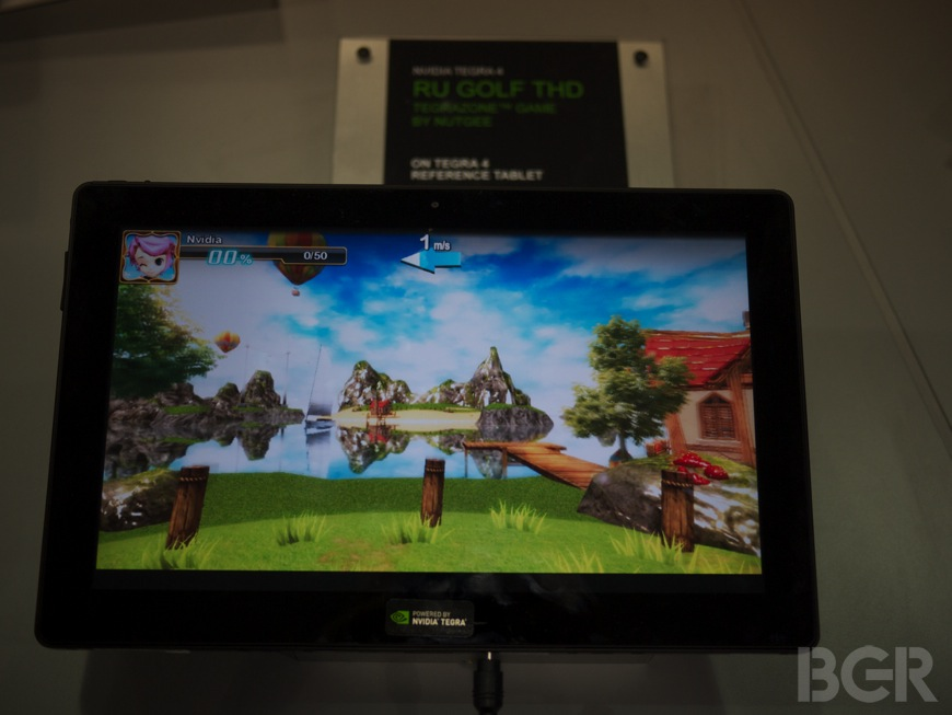 NVIDIA Tegra 4 Tablet Hands-on