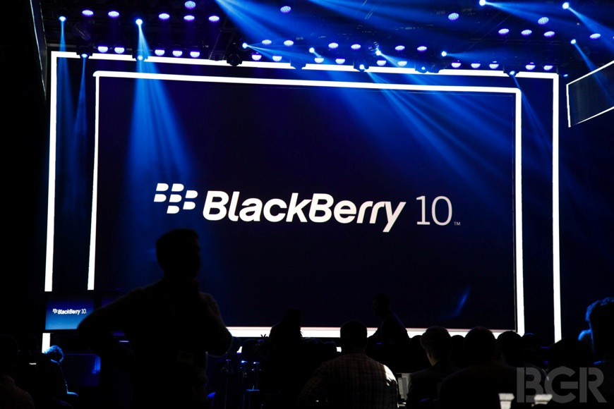 BlackBerry Global Sales Collapse