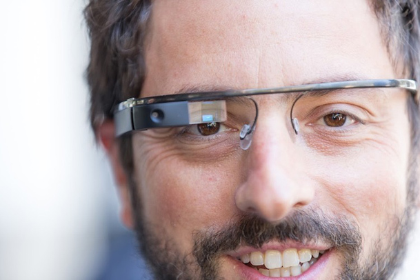 Google Glass LED Tech