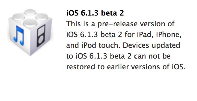 iOS 6.1.3 Download Link