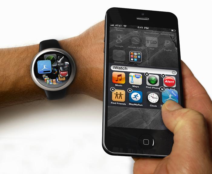 Apple iWatch patent filing