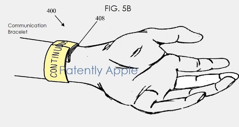 Apple iWatch Patent