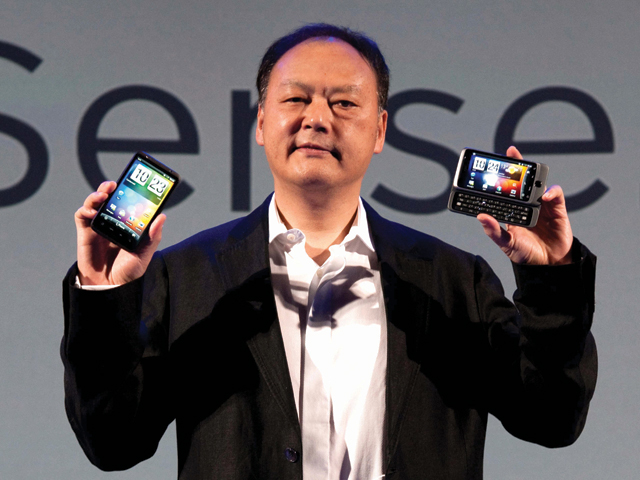 HTC M7 CEO Peter Chou