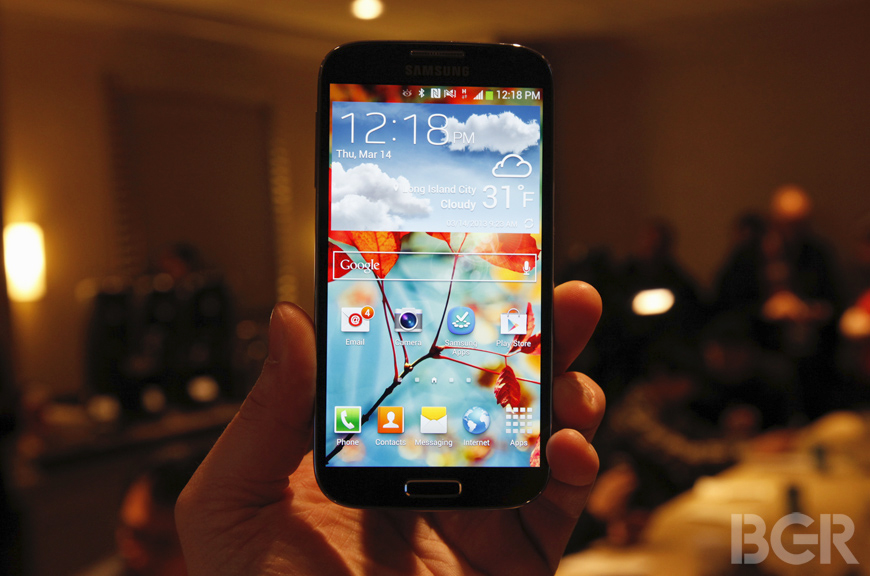 Samsung Galaxy S4 said to launch on April 26th at AT&T, May 30th at Verizon