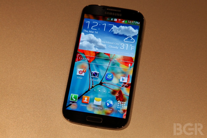 Galaxy S 4 Design Build Quality