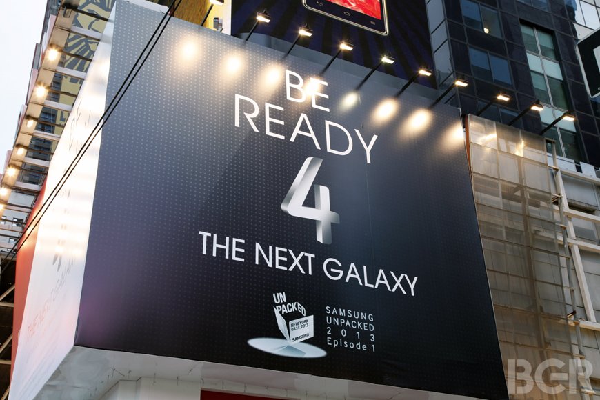 Samsung Galaxy S IV Liveblog