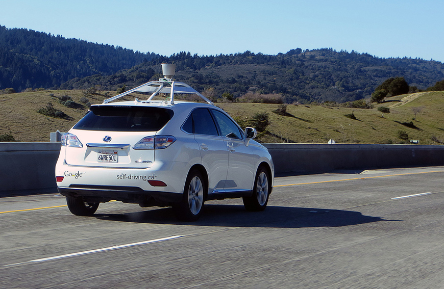 Verizon Self Driving Car