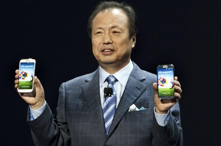 Samsung CEO Shin