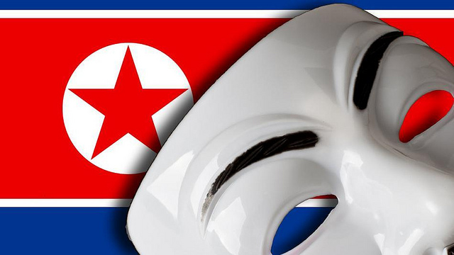 Anonymous hackers bring down North Korean websites for a second time