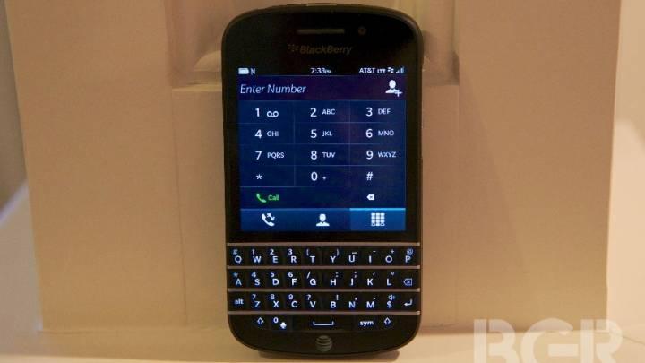 BlackBerry U.S. Market Share