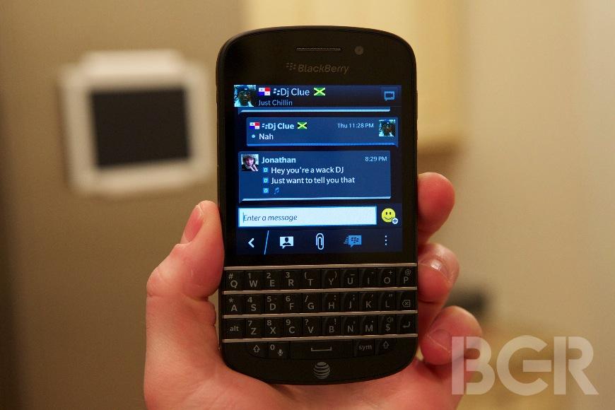 BlackBerry 2013 Smartphone Sales