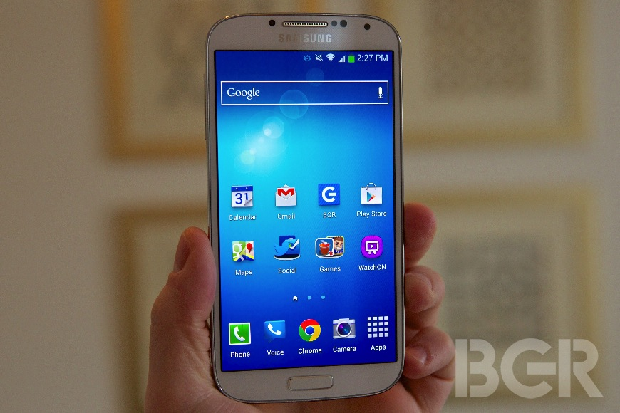 Samsung reportedly readying ruggedized version of the Galaxy S4
