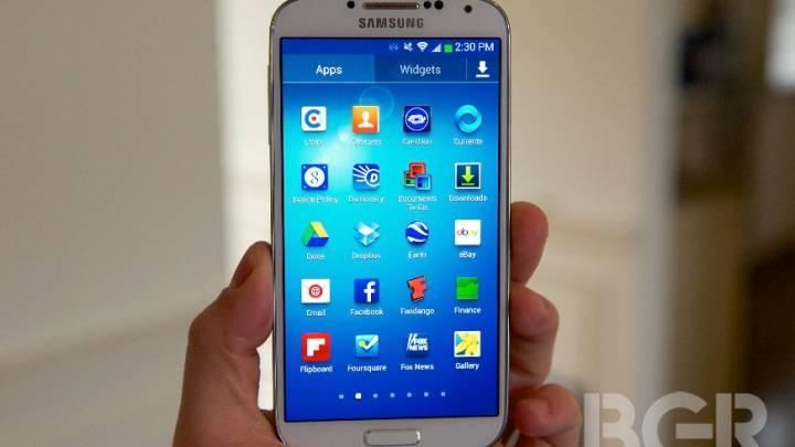 Samsung Galaxy S4 Storage