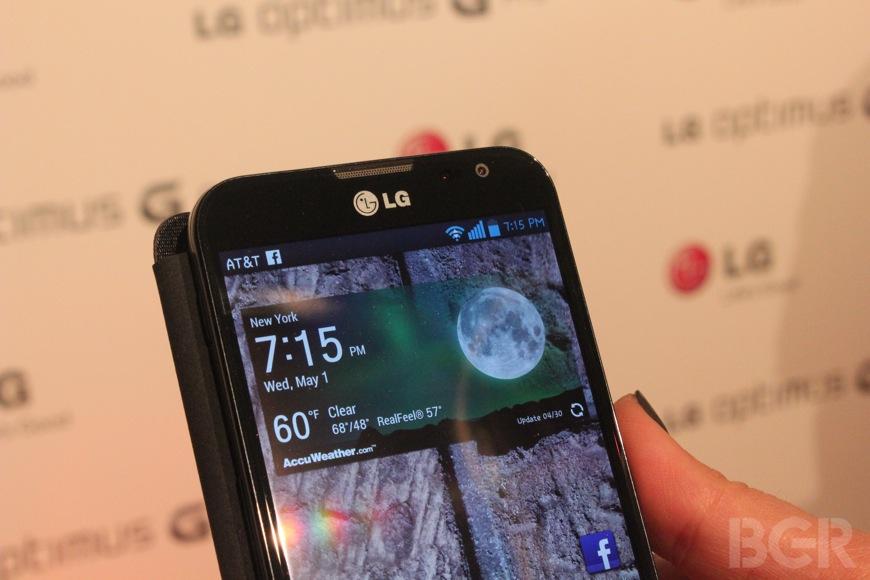 Sprint Optimus G Pro release date