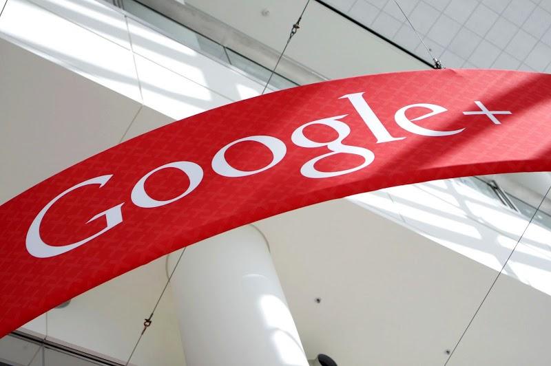 Google Plus resigned