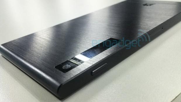 Huawei metal smartphone leak
