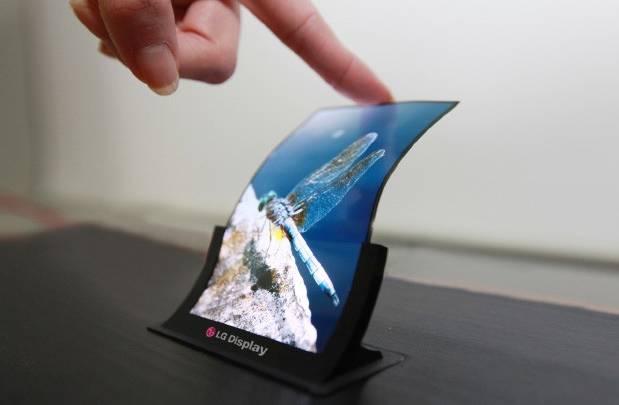 LG Flexible Smartphone Display