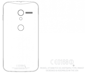 Google Motorola X Phone FCC Filing