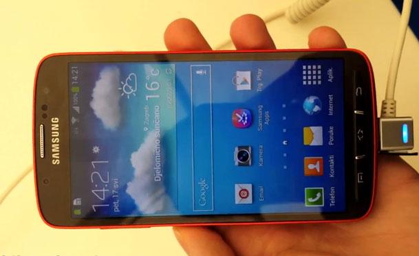 Samsung Galaxy S4 Active Video