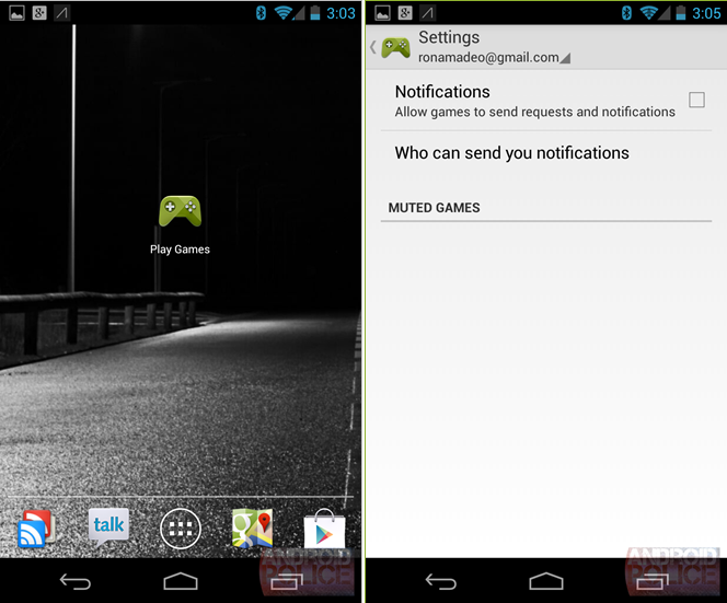 Google Play Games Service release date