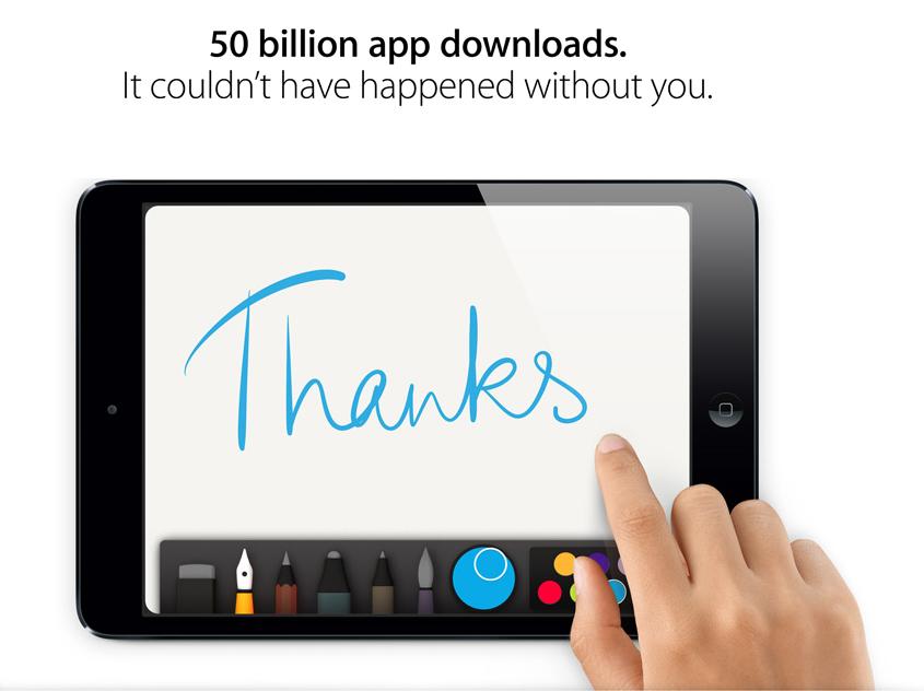 Apple App Store downloads