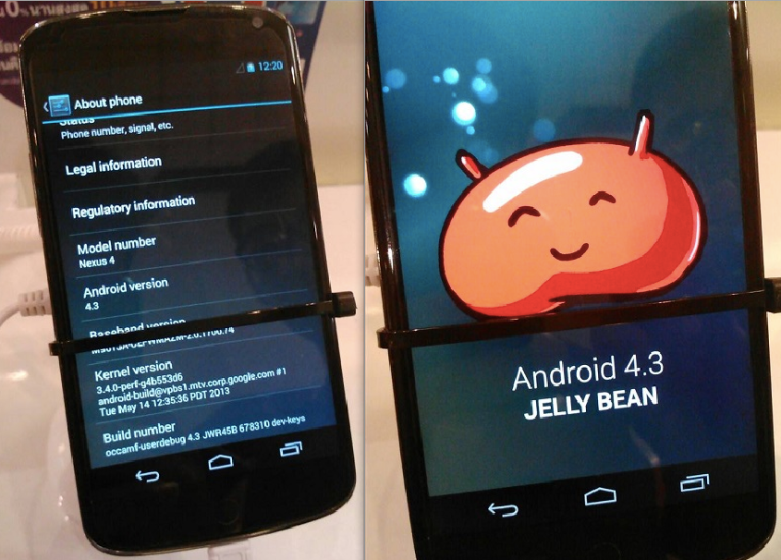 Android 4.3 Release Date