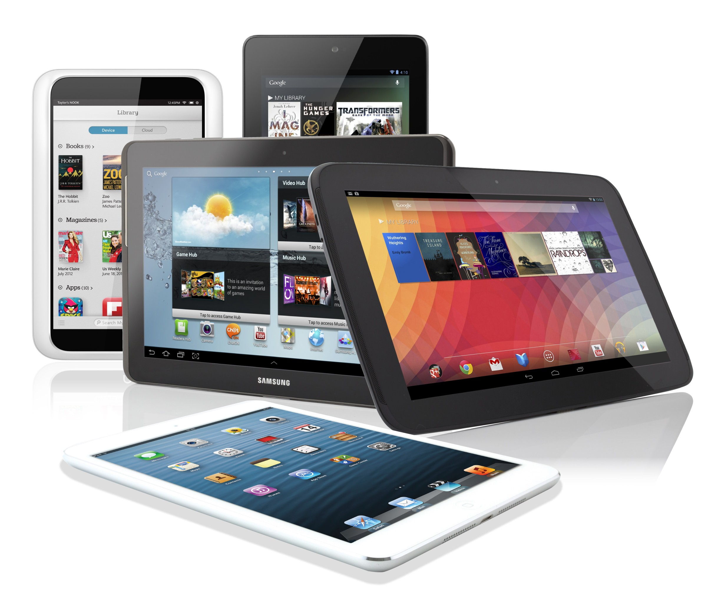 Tablet Mobile Data Plan Growth