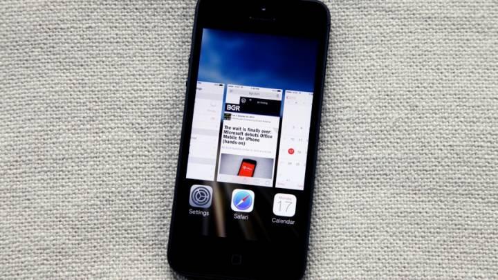 iOS 7 Beta 4 Change Log