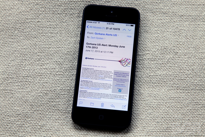 5 iPhone Email Tips and Tricks