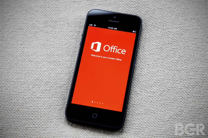 Office Mobile for iPhone Hands-on