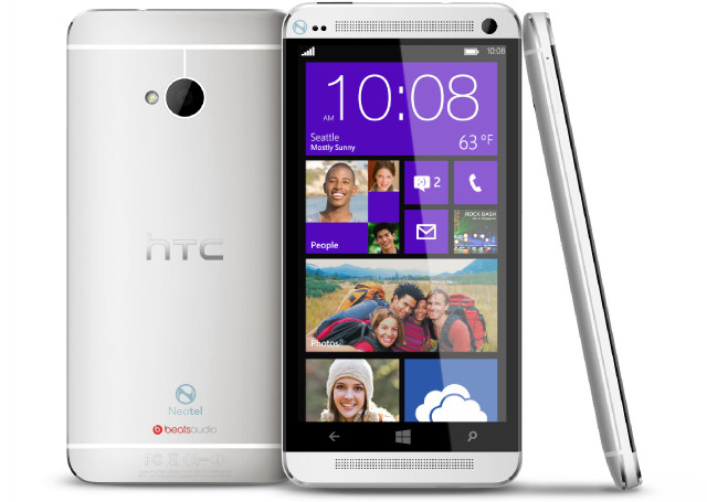 HTC One Windows Phone 8 Variant