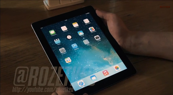 iOS 7 iPad Video