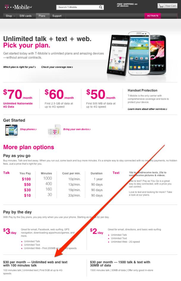 Best prepaid iphone plans great option