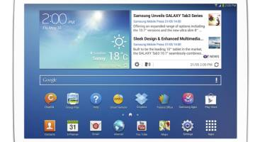 Galaxy Tab 4 10.1 Press Images Leak
