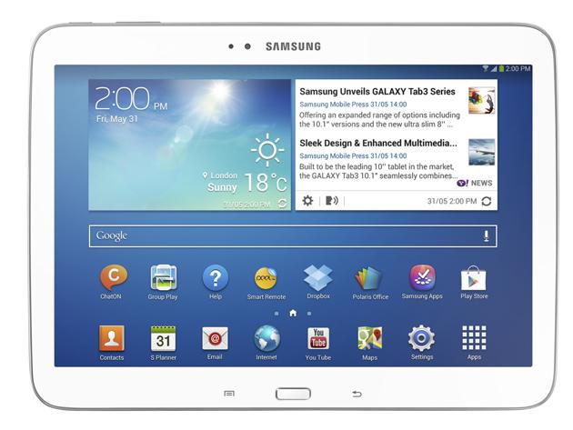 Samsung Galaxy Tab 4 Specs