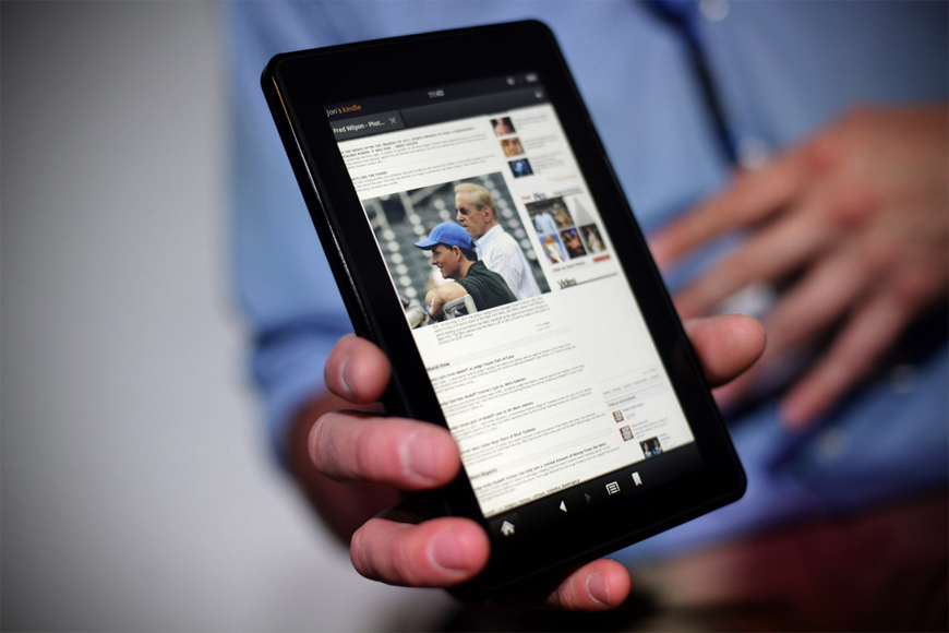 Amazon Kindle Fire HD 2 Pictures