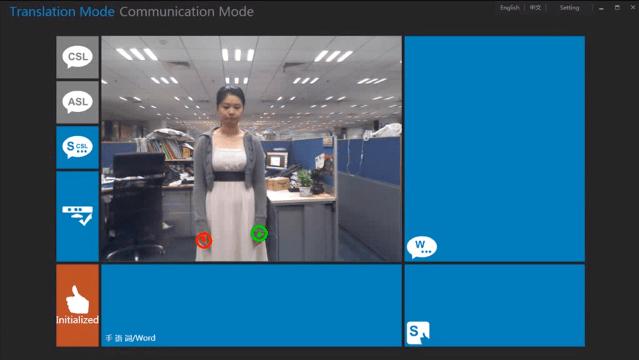 Microsoft Kinect Sign Language