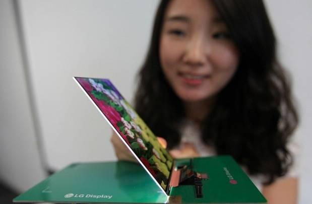 LG Thinnest HD LCD Smartphone Panel