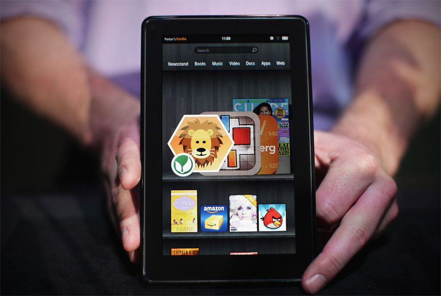 Amazon Kindle Fire 3 Specs